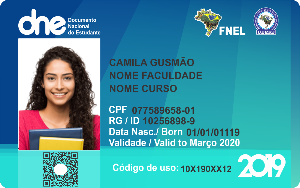 Fnel Federação Nacional Dos Estudantes Livres Carteira